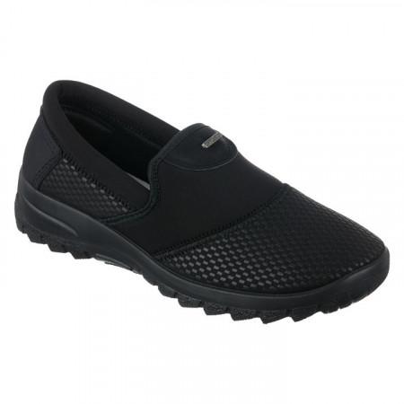 Pantofi sport ortopedici dama negri calapod lat OrtoMed 4001-S116