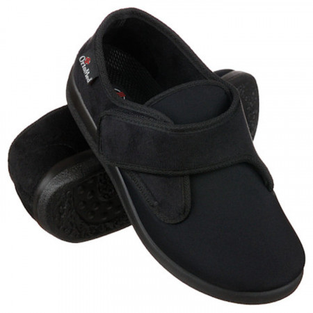 Pantofi ortopedici medicali dama barbati  material stretch OrtoMed 6013-T77