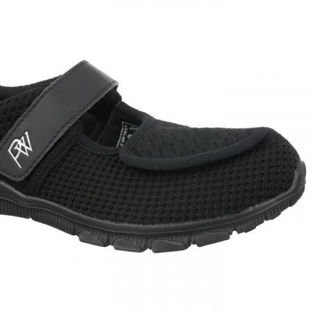 Pantofi sport ortopedici negri dama metatarsalgii PodoWell Vadim