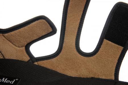 Sandale ortopedice reglabile negre barbati OrtoMed 529-T44 detaliu