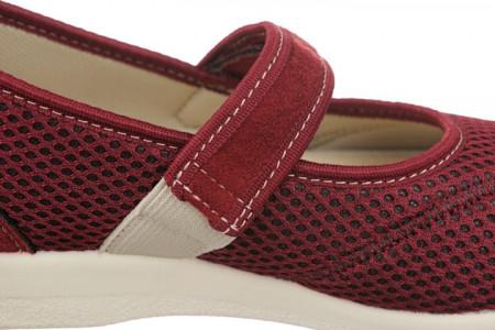 Pantofi ortopedici de vara dama OrtoMed 6089-T16 bareta reglabila cu velcro arici