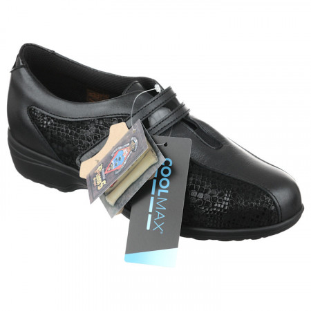 Pantofi ortopedici piele pentru diabetici dama Pinosos 7238H
