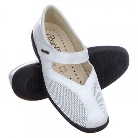 Pantofi piele stretch PodoWell Saga