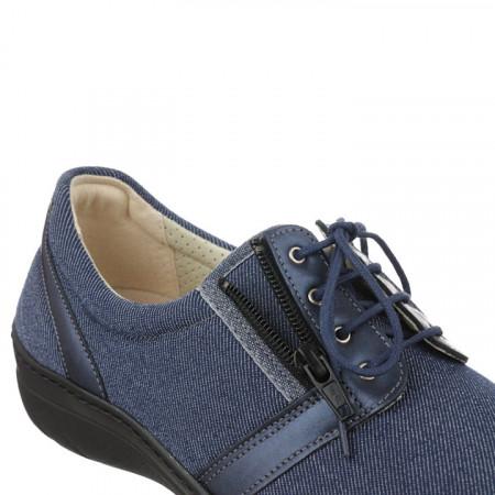 Pantofi sport ortopedici dama jeans PodoWell Valentine gri