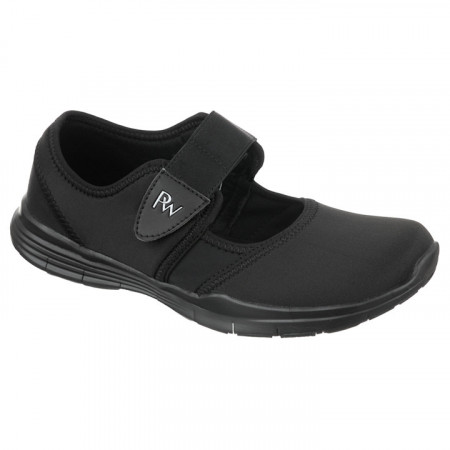 Pantofi sport ortopedici negri dama PodoWell Valence