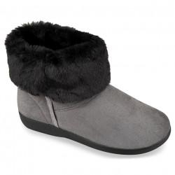 Ghete ortopedice imblanite cu lana, pentru femei, Mjartan 033-T73 gri