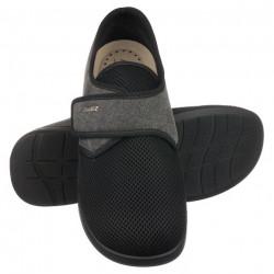 Pantofi de vara ortopedici barbati PodoWell Pierrick negru material fagure