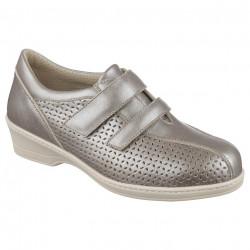 Pantofi ortopedici de vara pentru diabetici dama Pinosos 6951-P39 titan