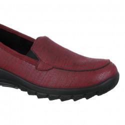Pantofi ortopedici pentru femei OrtoMed 4005-S72L bordo