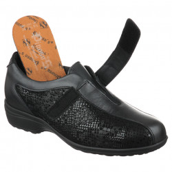 Pantofi ortopedici piele pentru plantari Pinosos 7238H