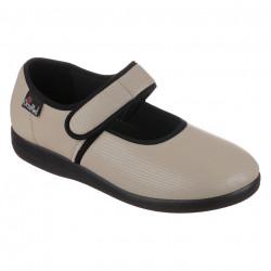 Pantofi ortopedici pentru monturi OrtoMed 6047-S96L bej
