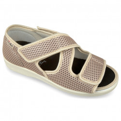 Sandale ortopedice medicale femei OrtoMed 529-T22 bej