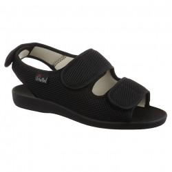 Sandale ortopedice medicale OrtoMed 526-T21 negre
