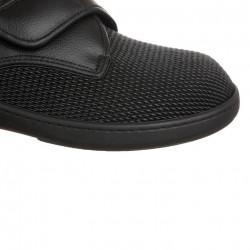 Pantofi pentru diabetici, ortopedici, piele, negri, PodoWell Alvine