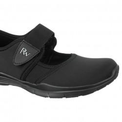 Pantofi sport ortopedici negri dama  picior lat PodoWell Valence