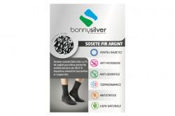 Sosete scurte pentru diabetici cu fir de argint 13% BonnySilver® 413