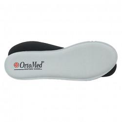 Adidasi ortopedici dama OrtoMed 4003-T78 negri camuflaj