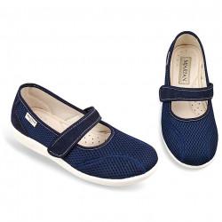 Pantofi ortopedici de vara bleumarin dama OrtoMed 6089-T99