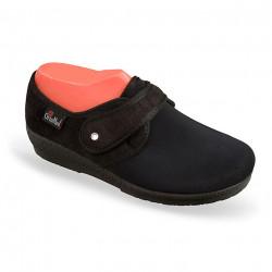 Pantofi ortopedici medicali pentru monturi OrtoMed 669-T77 negri