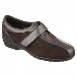 Pantofi ortopedici pentru monturi Hallux Valgus Pinosos 7503 H maro