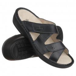Papuci ortopedici piele naturala dama OrtoMed 3704-P134