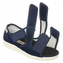 sandale ortopedice ultra reglabile bleumarin dama OrtoMed 529-T99