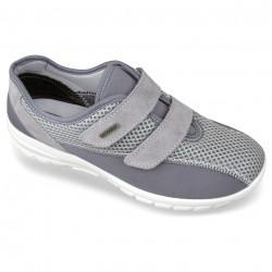 Adidasi ortopedici dama pentru Hallux Valgus OrtoMed 4009-T84 gri
