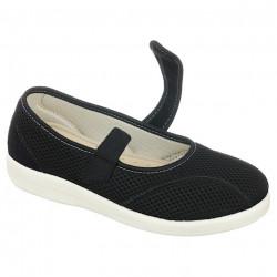 Pantofi ortopedici de vara dama OrtoMed 6089-T21 bareta reglabila