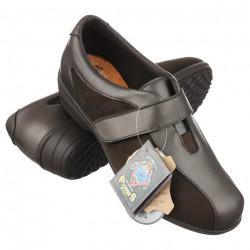 Pantofi ortopedici piele pentru diabetici dama Pinosos 7503H
