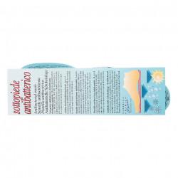 Eticheta branturi incaltaminte cauciuc natural bleu
