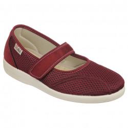 Pantofi de vara ortopedici bordo dama OrtoMed 6089-T16