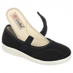Pantofi ortopedici de vara dama OrtoMed 6089-T21 brant detasabil