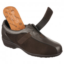 Pantofi ortopedici piele pentru plantari Pinosos 7503H