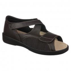 Sandale pentru diabetici ortopedice piele PodoWell Awell