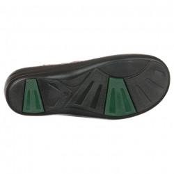 Talpa sandale ortopedice piele rosii PodoWell Dieppe