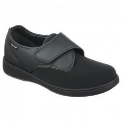 Pantofi ortopedici negri material stretch PodoWell Alix