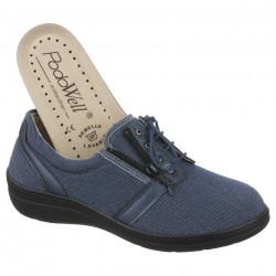 Pantofi sport ortopedici dama PodoWell Valentine bleumarin