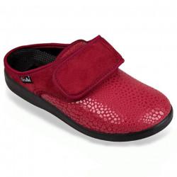 Saboti ortopedici pentru monturi / Hallux Valgus dama rosii OrtoMed 681-S27-T70