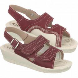 Sandale pentru monturi / Hallux Valgus bordo dama Mjartan 2815-N16