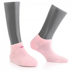 Sosete scurte pentru diabetici cu fir de argint 13% BonnySilver 113K roz