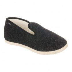 Pantofi de casa, interior lana naturala, Fargeot Finistere