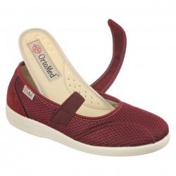 Pantofi ortopedici de vara dama OrtoMed 6089-T16 brant detasabil