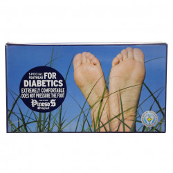 Pantofi ortopedici pentru diabetici Pinosos 6258G negru