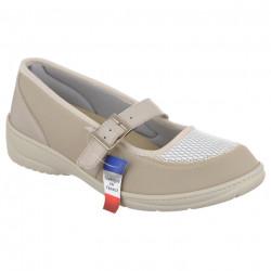 Pantofi ortopedici pentru monturi bej PodoWell Madona
