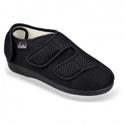 Pantofi recuperare medicala ortopedici negri OrtoMed 6051-T21