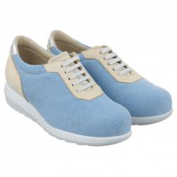 Pantofi sport ortopedici dama bleu Pinosos 7776-H
