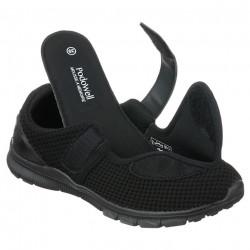 Pantofi sport ortopedici negri dama fasciita plantara PodoWell Vadim