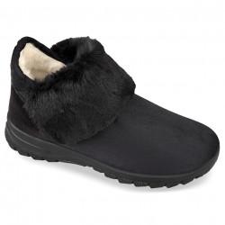 Ghete ortopedice imblanite cu lana, pentru femei, Mjartan 4503-T44 negre
