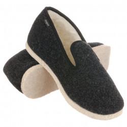 Pantofi de casa interior lana naturala 100% Fargeot Finistere