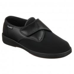 Pantofi ortopedici negri material stretch PodoWell Ajaccio